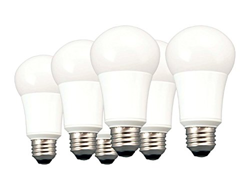 TCP 40W Equivalent LED Light, Non-Dimmable, Daylight (5000K) (Pack of 6)