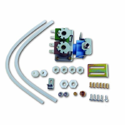 Supco WV8046 Replacement Icemaker Dual Solenoid Water Valve, Replaces 4318046