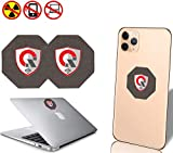 2PACK_SC Best EMF Protection Cell Phone : EMF Exposure Protection EMF Shield WiFi, Laptop-All Devices  Anti EMF Exposure Shield, EMF Blocker Neutralizer 1.5INCH (2PackSC)