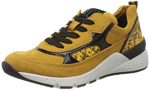 MARCO TOZZI Damen 2-2-23734-25 Sneaker, Saffron Comb, 37 EU