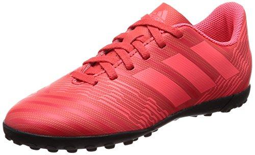 Adidas Nemeziz Tango 17.4 TF J, Botas de fútbol Unisex Adulto, Naranja (Correa/Rojent/Negbas 000), 38 2/3 EU