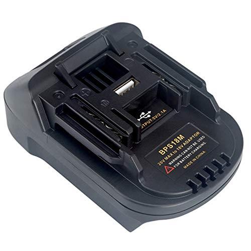 BPS18M Batterie Adapter für Black & Decker 20V Lithium für Porter Kabel 20V Lithium Batterie für MAKITA BL1830 BL1840 18V Batterie