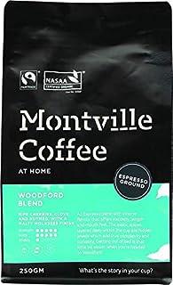MONTVILLE COFFEE Woodford Blend Espresso Ground Coffee 250 g, 250 g