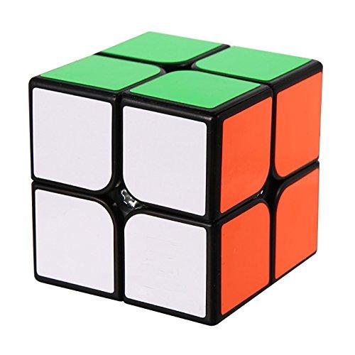 ROXENDA Speed Cube, Cubo de Velocidad 2x2x2 - Torneado Rápido y Suave, el Juguete Mágico 3D Puzzle: se Vuelve más Rápido Que el Original