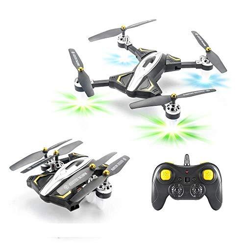 ADLIN Drone WiFi FPV HD 720p cámara, la mejor avión no tripulado for principiantes con el mantenimiento de altitud, control de voz, gestos Fotografía reconocimiento, trayectoria de vuelo, tirones en 3