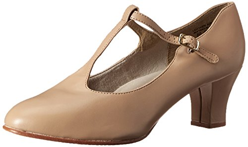 Capezio Jr. Footlight T-Strap Caramel Dance Shoe - 7 M US