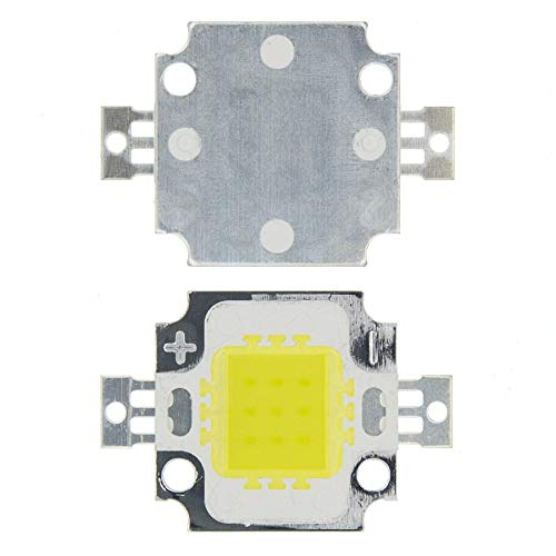 10W LED blanco Blanco frío Chip LED para proyector integrado 12v Proyector de bricolaje Luz de inundación al aire libre Súper brillante