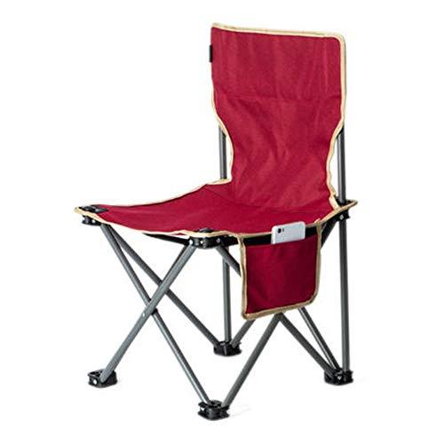 Silla de camping plegable portátil mini silla plegable ligera camping senderismo viaje...