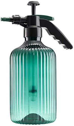 ITODA Action Pressure Sprayer Green Multipurpose Handheld Sprayers Plant Flower Watering Pot Spray Bottle Plastic Pump Bottle Garden Pump Sprayer with Adjustable Nozzle for Home Garden,2 L