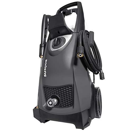 Sun Joe SPX3000-BLK Pressure Joe 2030 PSI 1.76 GPM 14.5-Amp Electric Pressure Washer, Black (Renewed)
