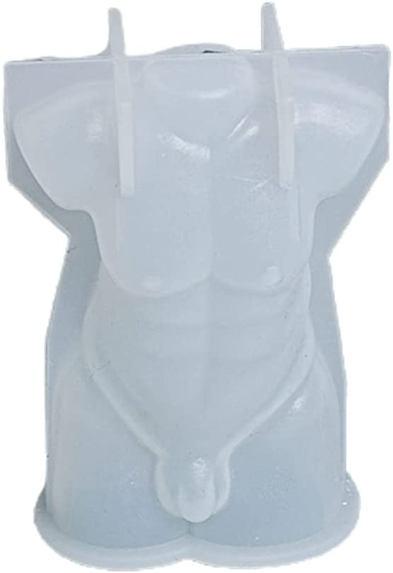Harlotte Max 82% OFF 3D Body Shape Candle Mold Male Female Resin Free shipping on posting reviews Model