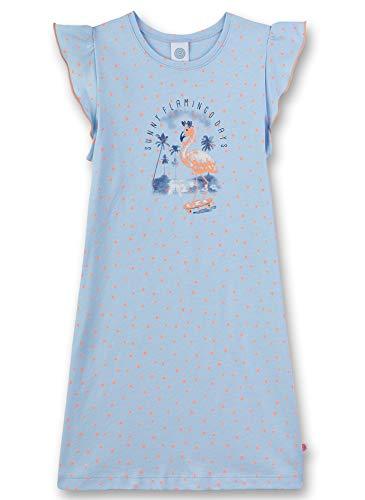 Sanetta Mädchen Nachthemd, Blau (Ice Blue 50310), (Herstellergröße: 128)