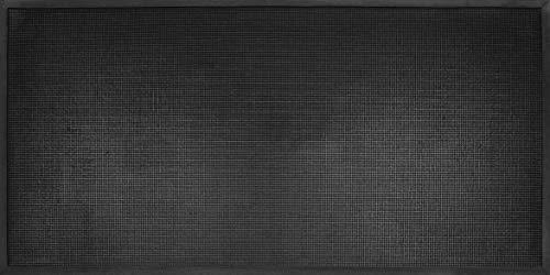 ID m53_l Mate, Puntos Light-Felpudo Caucho, Negro, 180 x 90 x 1 cm