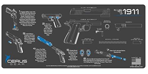 1911 blue gun - 8