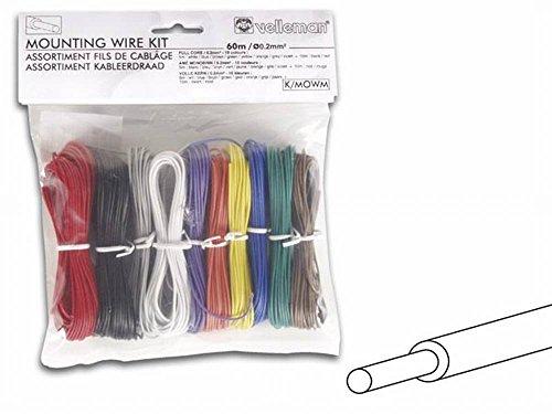 Velleman K/MOWM - Cable de señal (60 m, AWG24)