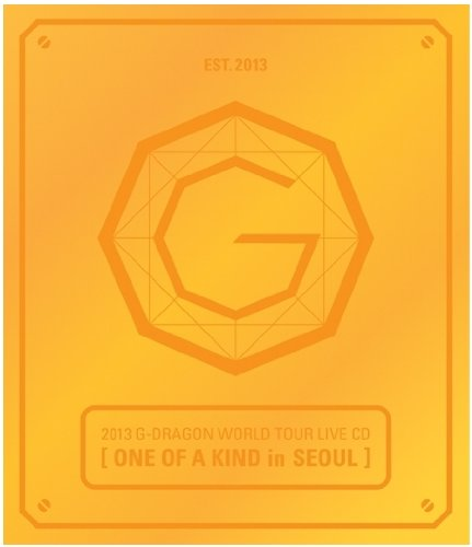 Kpop CD, G Dragon 2013 World Tour Live CD [ONE OF A KIND in SEOUL](1CD)(Random Cover)(Collection card ver)[003kr]