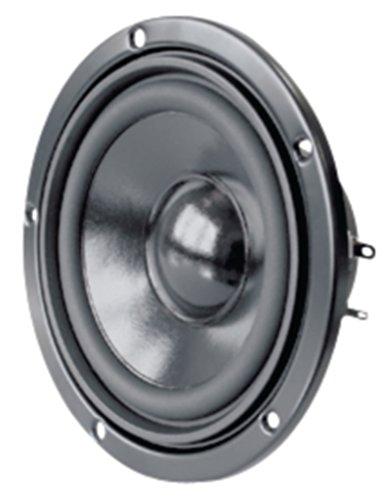 Visaton VS-W100S/4 - Speaker-Driver (30 W, 50 W, 4 Ohm, 56-15000 Hz, zwart, 122 mm)