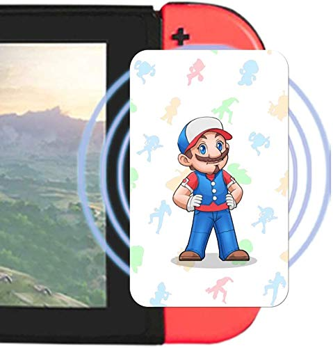 Tarjetas de juego NFC para Mario Kart 8 Deluxe Switch - 20pcs con titular de tarjetas