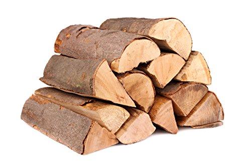 25 Kg 33cm ofenfertiges luftgetrocknetes Buchen Kaminholz - 3 Jahre gelagert - Aus Deutschland - Unter 18% Restfeuchte - Brennholz Kaminholz Feuerholz (33cm)