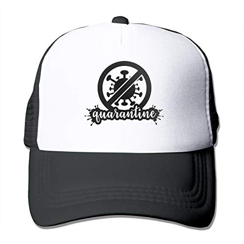 Quarantine No Coronaviru Funny Trucker hat Love Hipster Adjustable Mesh Trucker Hat Baseball Cap