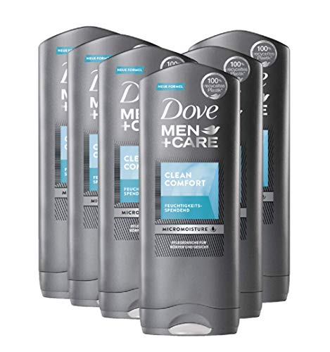 Dove Men+Care Duschgel Clean Comfort XXL 400 ml, 6er Pack (6x 400 ml)