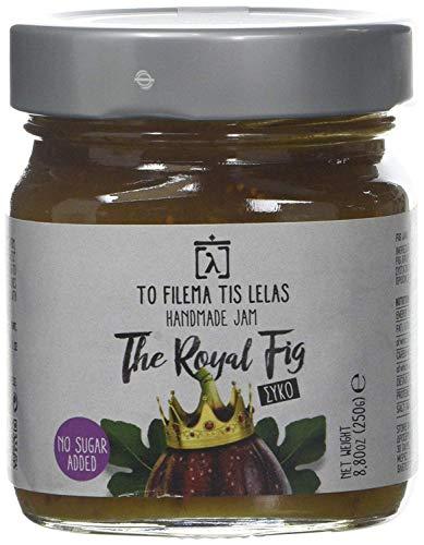 To Filema Tis Lelas Handgemachte Feigenmarmelade ZUCKERFREI - The Royal Fig 240 g, 2er Pack