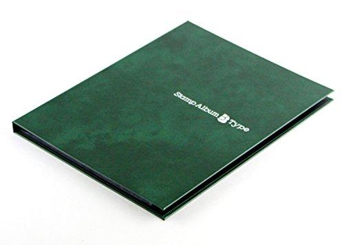 『テージー スタンプアルバム Bタイプ B5 台紙8枚 SB-30N-03 緑』の2枚目の画像
