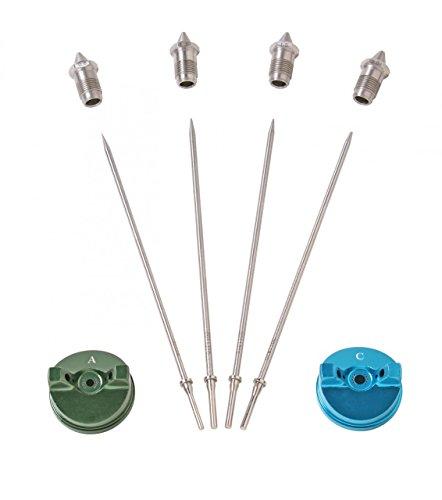 Apollo Deluxe Needle/Nozzle/AirCap Set for Atomizer 7500 and 7700 HVLP Gun