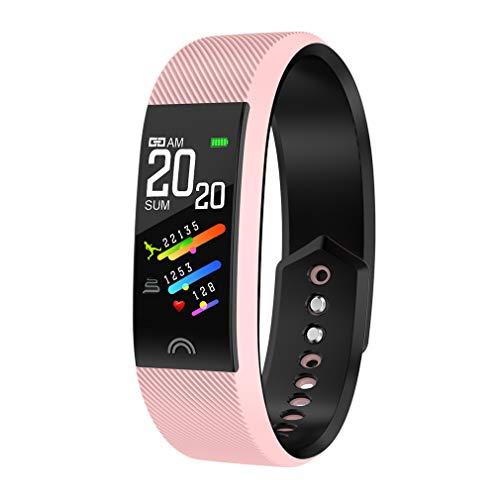 Geheime nacht Fitness Stappenteller Smart Horloge met Waterdichte Bluetooth Polsband Monitor Stappenteller Hartslag Bloeddruk Monitor