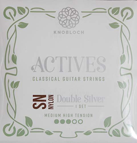 Knobloch Strings 400ADN Actives Double Silver SN - Cuerdas de nailon