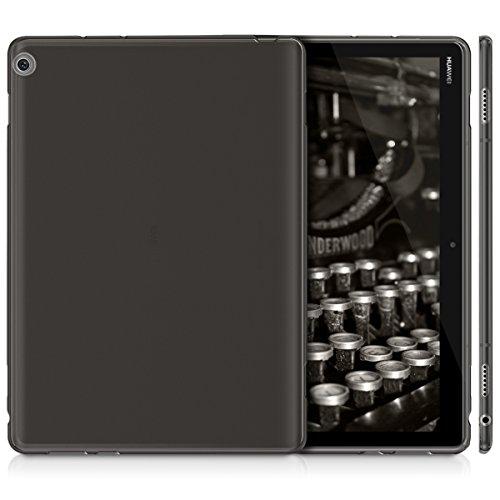 kwmobile Huawei MediaPad M3 Lite 10 Hülle - Silikon Tablet Cover Case Schutzhülle für Huawei MediaPad M3 Lite 10 - Schwarz - 5