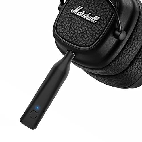 Bluetooth Adapter for Marshall Headphones, Wireless Bluetooth 5.0 Handsfree Aux 3.5mm Receiver for Marshall Major 1 2 3 Monitor Mid I II III Mode EQ Headphones Earphones