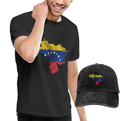 Teenagers Teen Girl Venezuela Map Flag-1 Printed Long Sleeve 100/% Cotton Tops