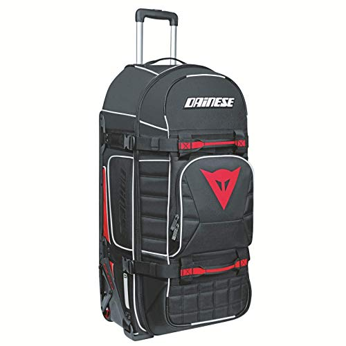 Dainese Unisex-Adult D-Rig Wheeled Bag, Black, One