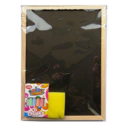 Craie Bord pour enfants - Animal Antics - craie bord, chiffon et craie - Taille 290mm x 210mm