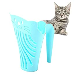 BENHAI Cat Litter Scoop Cat Litter Scoop Shovel Plastic Litter Scoop Cat Cleaning Tool Durable Cat Litter Scoop Kitten Litter Scoop Litter Tray Scoop