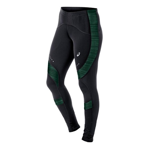 ASICS - Mallas para mujer (talla M), color negro y verde