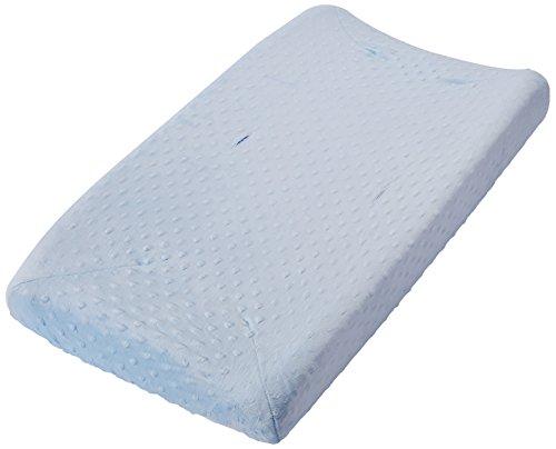 Rumble Tuff CV-CT-200-BL standard Minky Dot Changement Pad Cover - Bleu