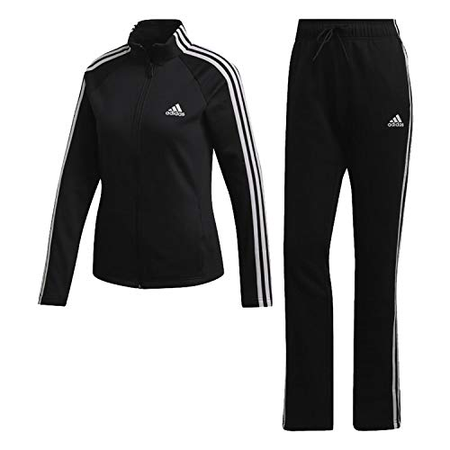 adidas W TS CO Energiz Tracksuit, Mujer, Black/Black, 2XS