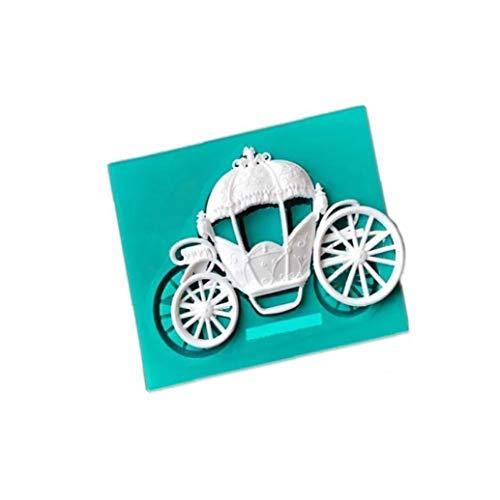 Wagen fondant cakevorm siliconen chocolade koekjesvorm zoetheid koken bakken cake bruiloft decoratie gereedschap