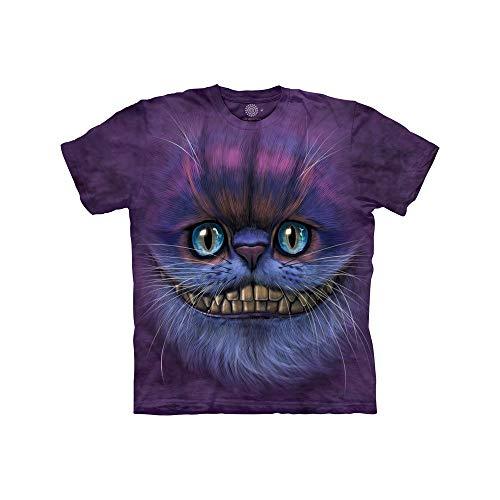 The Mountain Unisex-Kinder-T-Shirt Bf Grinsekatze Gr. S, violett