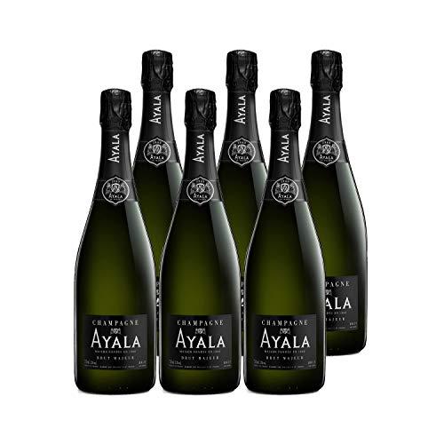 Champagne Brut Majeur - Maison Ayala - Rebsorte Chardonnay, Pinot Noir, Pinot Meunier - 6x75cl - 92/100 Wine Spectator