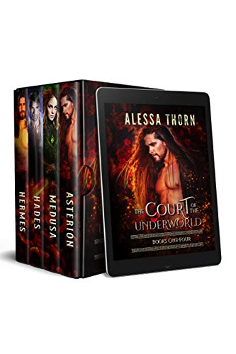 The Court of the Underworld (Books 1-4): A Paranormal Romance Greek Gods Series