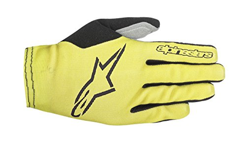 Alpinestars, Aero 2 Guanti, Uomo, Acid Yellow/Black, S