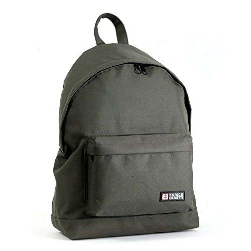 Enrico Benetti Amsterdam Multipurpose Unisex School/Sport Backpack Briefcase (Olive)