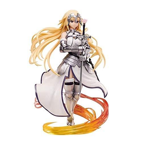 ASDCXZ FGO Anime Joan Modelo de la Virgen Fate Series Static Modelos Caracteres para el ARC Honglian Desktop Elemento de 26 centímetros