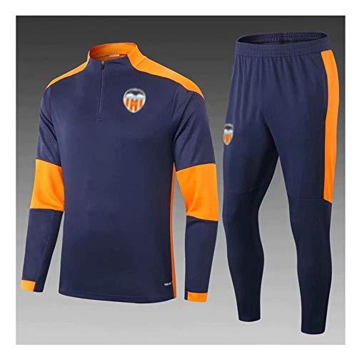 MVNTOO Club de fútbol Europeo, Traje de Chaqueta de fútbol para Hombre, Camiseta de Entrenamiento, Hecho por fanáticos. - Fútbol157-negro_Metro