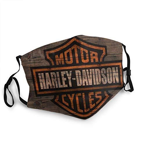 EU Capucha protectora de moda Har-Ley David-Son 3   Lavable y reutilizable   Lindas máscaras para mantener el calor   Unisexo
