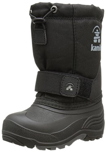 Kamik Rocket Cold Weather Boot (Toddler/Little Kid/Big Kid),Black,13 M US Little Kid