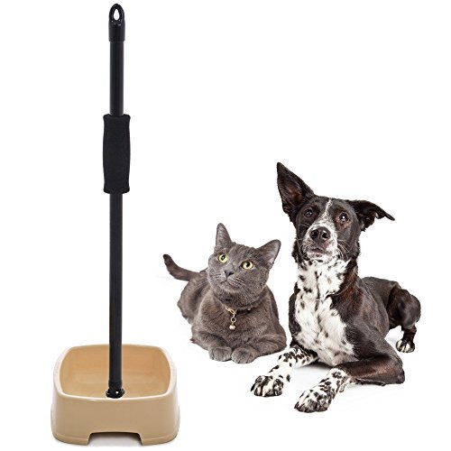 Graceful Pets - Easy to Feed Pet Bowl with Handle - The Ultimate Reaching Aid and Dog Bowl for Pet Lovers